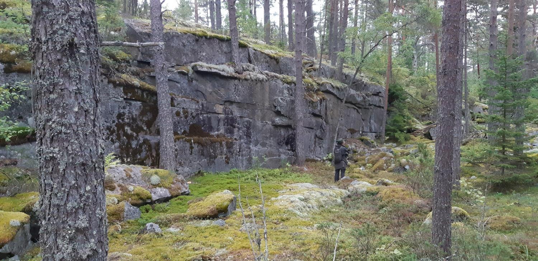 Каменоломни острова Тулолансаари. Автор Борисов И. В., изображение №5