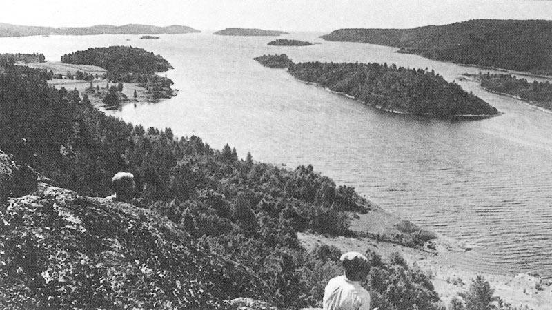 Залив Сумерианлахти, 1930 год