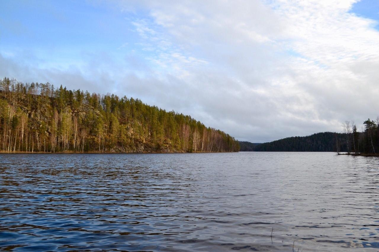 Озеро Ристиярви. Фото Анны Машигиной.