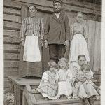 Семья Янис. 1910 г.