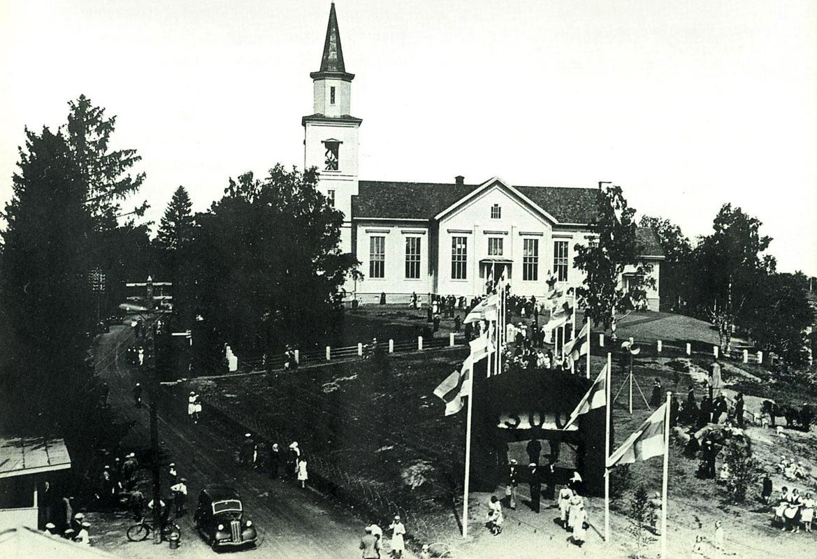 27 июля 1938 года. Празднование 300-летия прихода