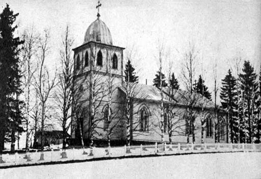Церковь в Вяртсиля, 1930