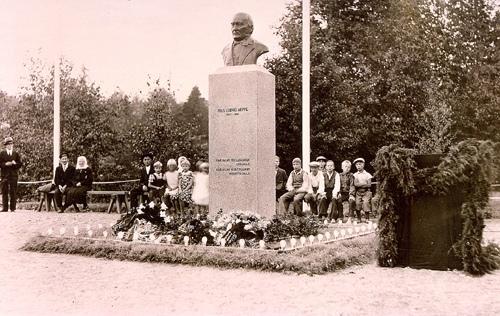 Памятник Нильсу Людвигу Арппе, 1930 год