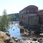 Бумажный комбинат в поселке Ляскеля