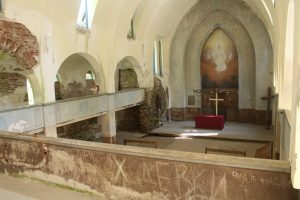 Лютеранская кирха в поселке Лумиваара