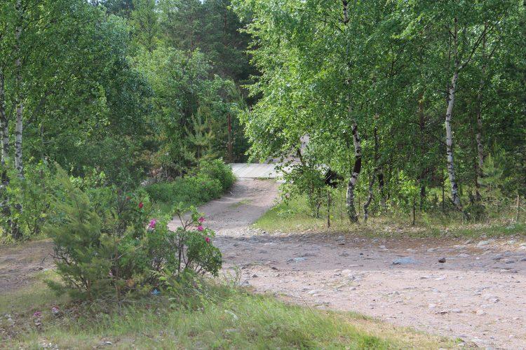 Поселок Барышево, Вуокса