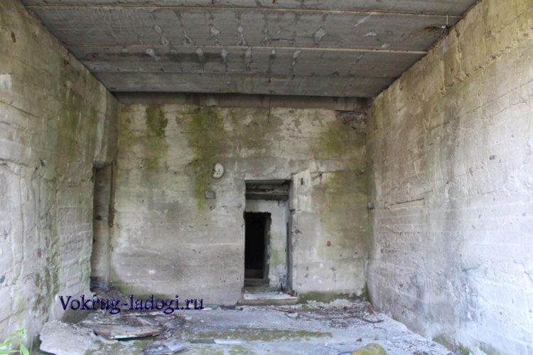 Остатки военной части в Салми