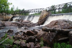 ГЭС Пиени-юканкоски в Салми