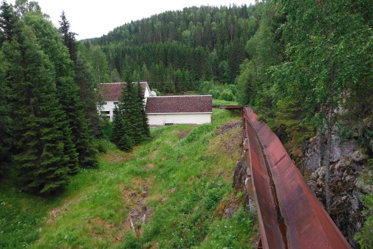 Плотина ГЭС Питкякоски