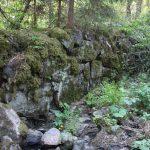 Руины плотины в Рауталахти
