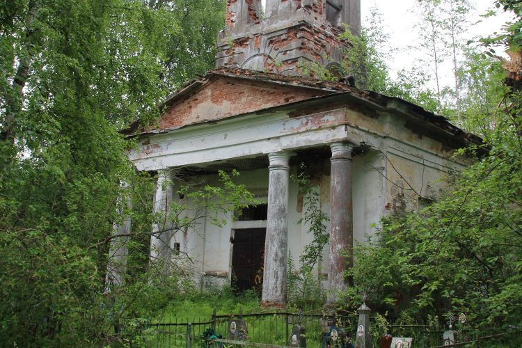 Спасо-Преображенская церковь (Загубье)