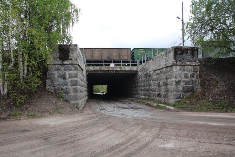 ЖД мост в Элисенваара