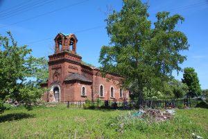 Спасо-Преображенская церковь Васильевского погоста в поселке Чернавино