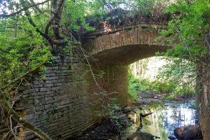 Мост через речку Опочень, Яхнино