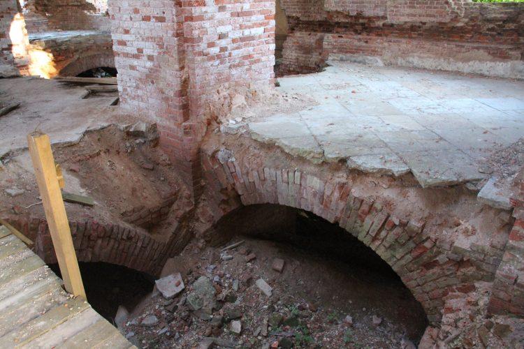 Руины Церкви в Колчаново