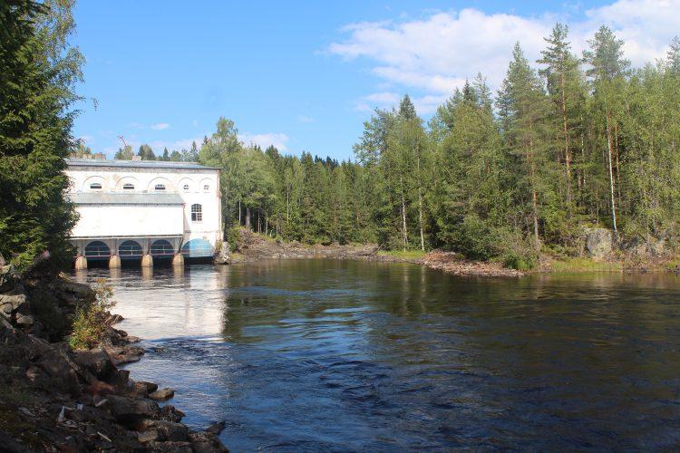 ГЭС Хямекоски на реке Янисъярви