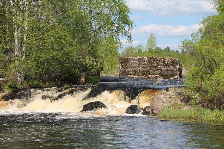 Остатки ГЭС , Яккима