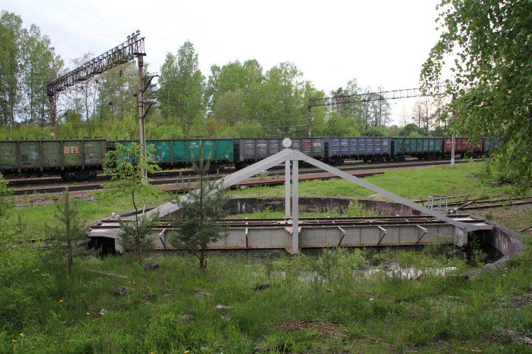 Железнодорожный круг в Приозерске
