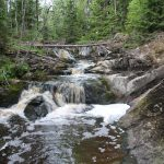 Руины плотины в деревне Леппяселькя, Хелюля,