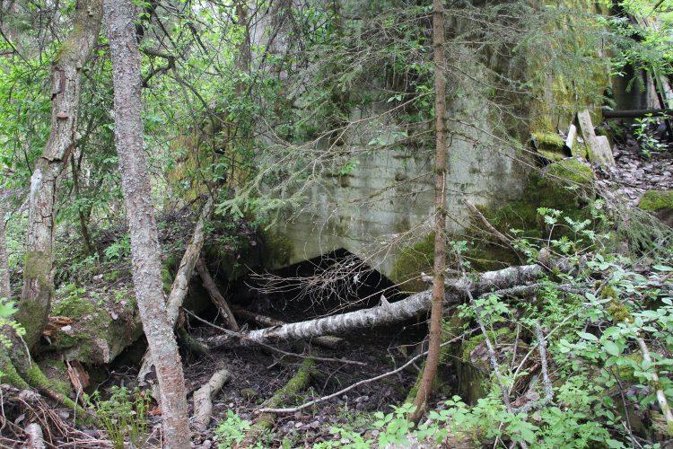 Коскенсиланмюллю, плотина в Ихала