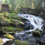 Водопад Прокинкоски (Prokinkoski) на реке Хихнийоки (Hiihnijoki) больше известен как 9 мая