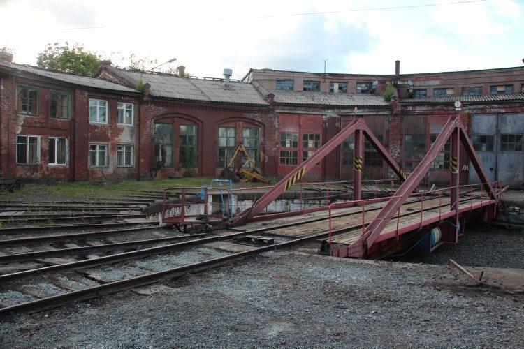 Веерное депо в Сортавала