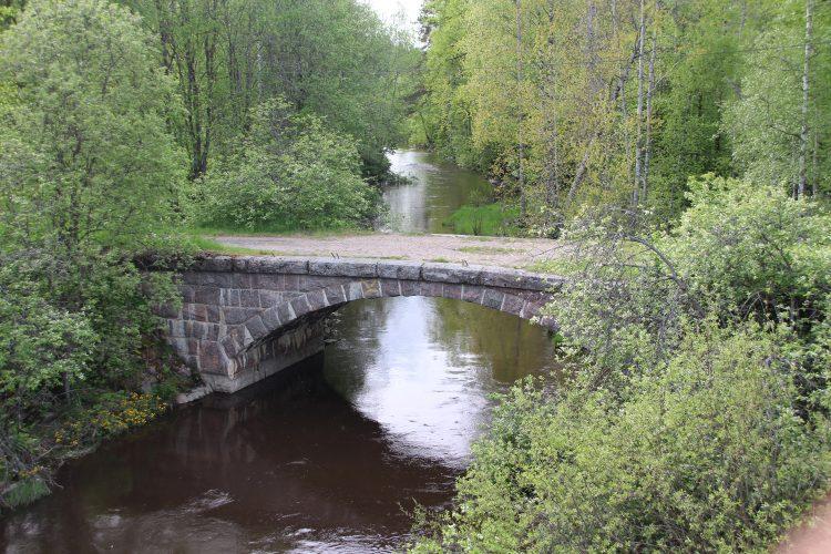 Мост через реку Бегуновка.
