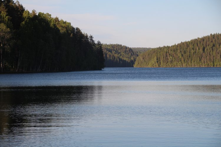 Озеро Ристиярви