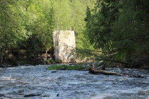 ГЭС  Сюрьякоски (Syrjakoski), Кокколанйоки, Кетроваара