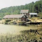 Мельница и пилорама, принадлежавшие братьям Симо и Юхо Йормакка