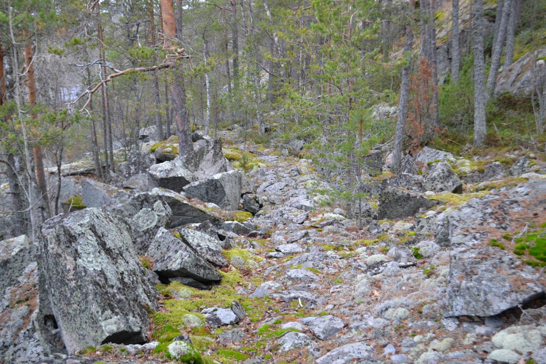 Каменоломни Импиниеми. Фото Григорьевой Т.