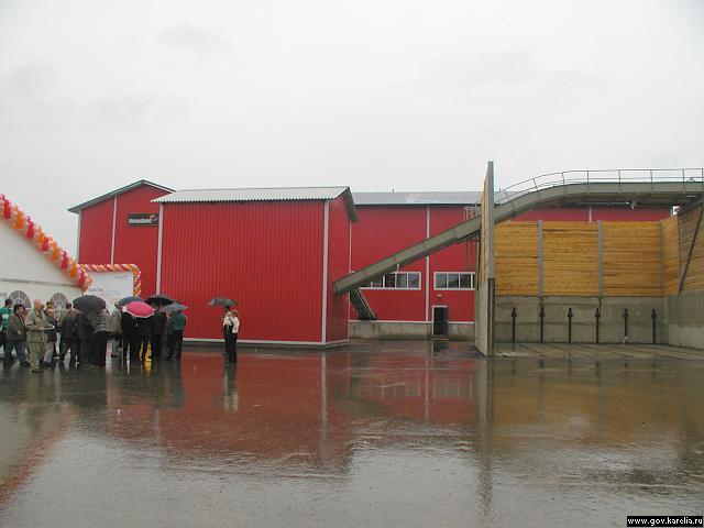 Лесопильный завод Stora Enso, 2003 год. Фото Смирнова А.