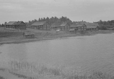 Деревня Сидозеро. 1942 год