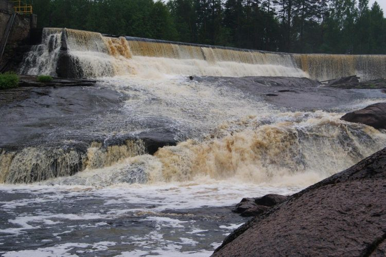 ГЭС Суури-юканкоски, Салми