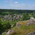 Гора в поселке Хийтола
