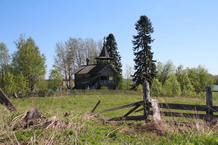 Петропавловская часовня в Заозерье