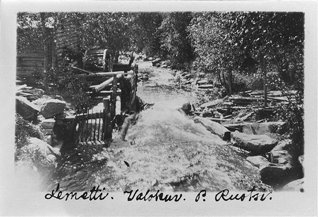 Порог Леметти, на ручье Койриноя. 1890г