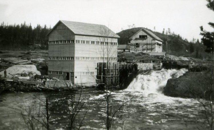 1944г. Мельница и лесопилка в деревне Койриноя